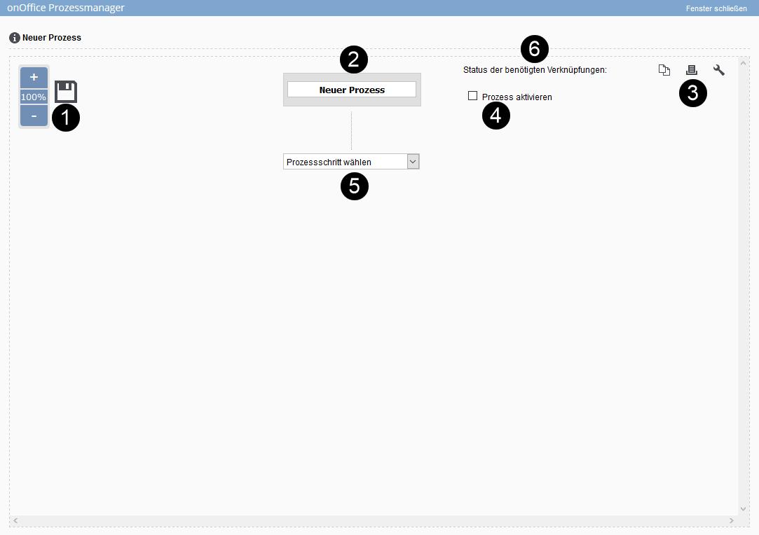 Vorlagenmaske im Prozess-Designer