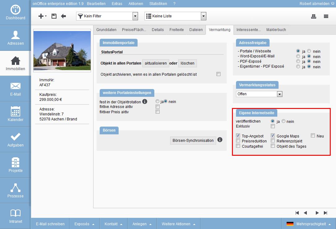 smart site Objektdarstellung 1