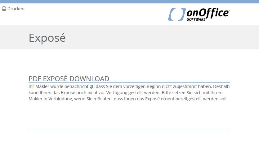 Hinweis, sofortigem Beginn nicht zugestimmt, Keine Datei verfügbar